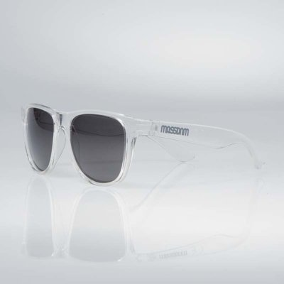 Okulary Mass John transparent white