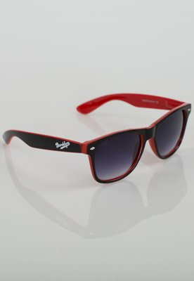 Okulary Red Eyes Brooklyn Two Colors czarno czerwone B544B