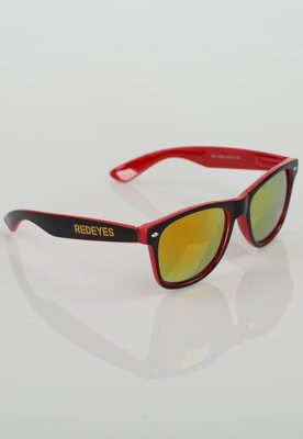 Okulary Red Eyes RED Two Colors czarno czerwone R512Z