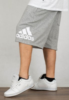 Spodenki Adidas Must Have BOS Short French Terry EB5260 szare