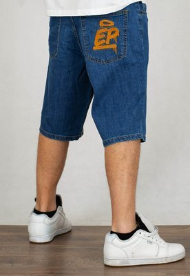 Spodenki El Polako Ep Tag light jeans