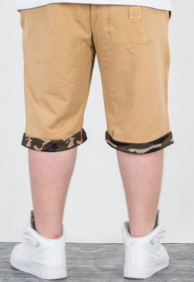 Spodenki Mass Regular Fit Patrol beige