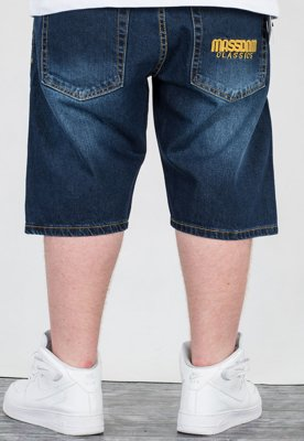 Spodenki Mass Straight Fit Classics dark blue