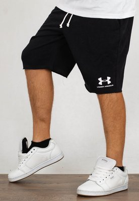 Spodenki Under Armour Sportstyle Terry czarne