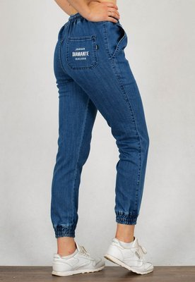 Spodnie Diamante Wear Jogger Unisex RM jeans light