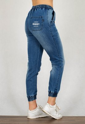 Spodnie Diamante Wear Jogger Unisex RM jeans light wyprany