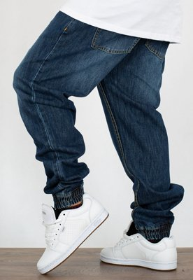 Spodnie Mass Jogger Sneaker Fit Signature dark blue