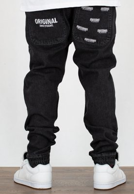 Spodnie Mass Jogger Trap Fit Original black rinse