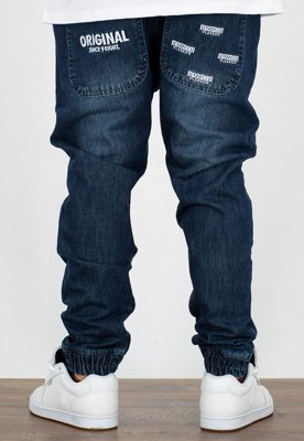 Spodnie Mass Jogger Trap Fit Original dark blue