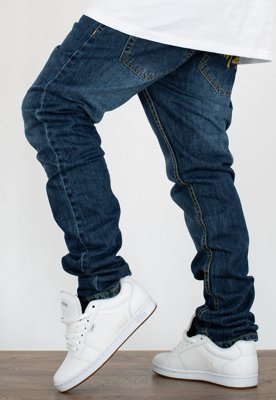 Spodnie Mass Jogger Trap Fit Signature dark blue