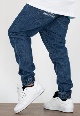 Spodnie Mass Jogger Trap Fit Truth blue