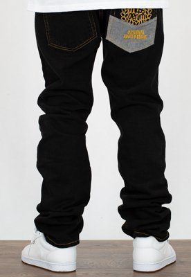 Spodnie Mass Jogger Trap Fit V black rinse