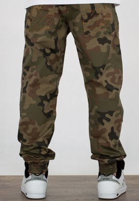 Spodnie Moro Sport Joggery Regular Baseball Outline 18 camo