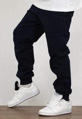 Spodnie Prosto Chino Jogger Call dark blue