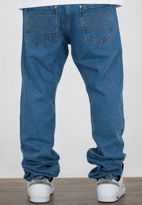 Spodnie Prosto Regular Jeans light blue
