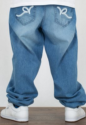 Spodnie Rocawear Crime Jeans 90th Light Blue Wash