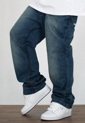 Spodnie Rocawear Crime Jeans 90th Mid Blue Wash