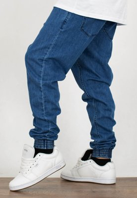 Spodnie SSG Jogger Slim Double Pocket Jeans light