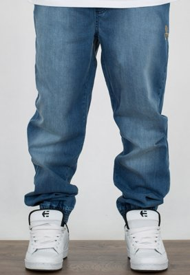 Spodnie Stoprocent Jogger Classic Blue Gold