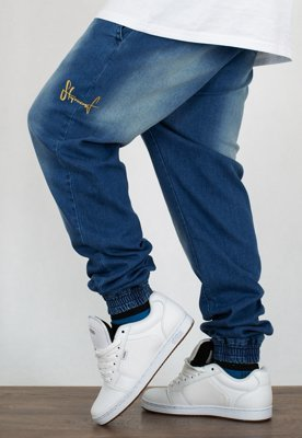 Spodnie Stoprocent Jogger Classic Jeans Blue