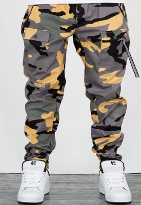 Spodnie Stoprocent Joggery Survival 17 camo green