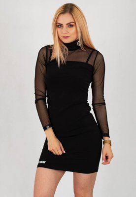 Sukienka ATR WEAR High Neck czarna