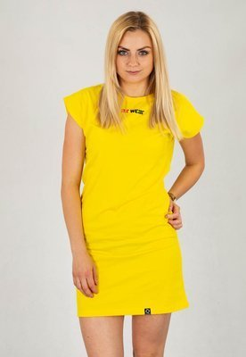 Sukienka ATR WEAR tee Dress ATR żółta