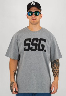 T-Shirt SSG New SSG szary