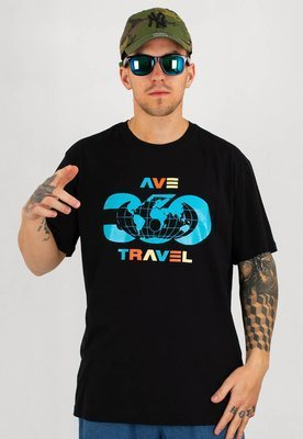 T-shirt 360CLTH Ave Travel czarna