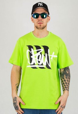 T-shirt 360CLTH Crew Tag neonowy