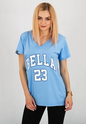 T-shirt ATR Wear Bella niebieski