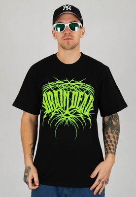 T-shirt Brain Dead Familia Death Metal czarny