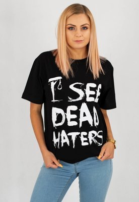 T-shirt Diamante Wear I See Dead Haters czarny