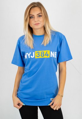 T-shirt Diamante Wear Unisex WYJ384NE niebieski