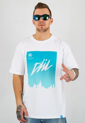 T-shirt Diil Air City biały