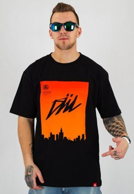 T-shirt Diil Air City czarny