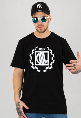 T-shirt Diil Chest czarny