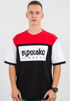 T-shirt El Polako 3 Colors EP czarny