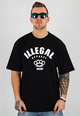 T-shirt Illegal Apparel czarny