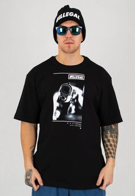 T-shirt Illegal New Gun czarny
