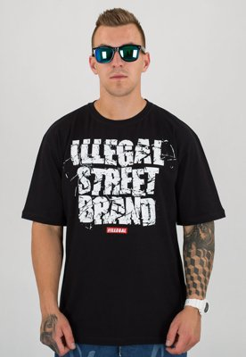 T-shirt Illegal Team czarny