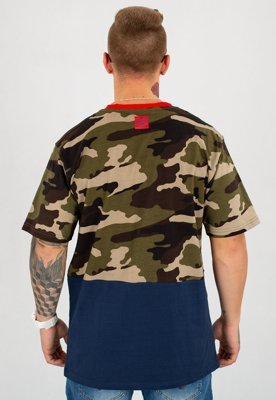 T-shirt Mass Truman woodland camo