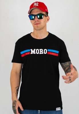 T-shirt Moro Sport Blue Red Moro czarny