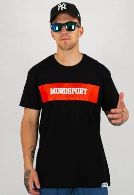 T-shirt Moro Sport Moro Background czarny