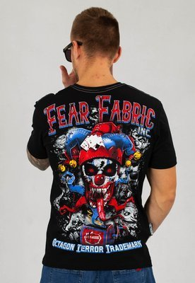 T-shirt Octagon Fear Fabric inc. czarny