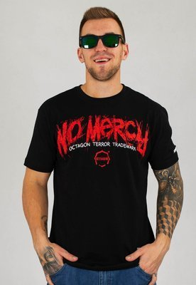 T-shirt Octagon No Mercy czarny