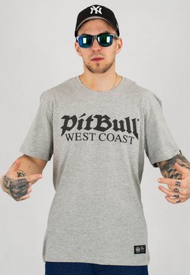 T-shirt Pit Bull Old Logo szary