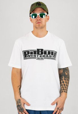 T-shirt Pit Bull Regular Fit 210 Boxing biały