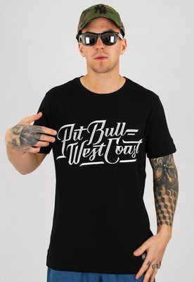 T-shirt Pit Bull Slim Fit Lycra Speed czarny