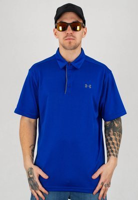 T-shirt Polo Under Armour UAR 1290140400 Tech Polo niebieski